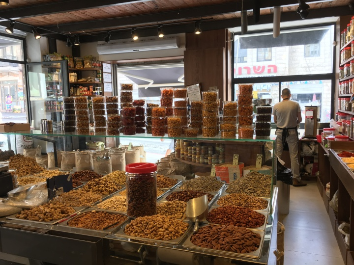 Shopping in the Shuk