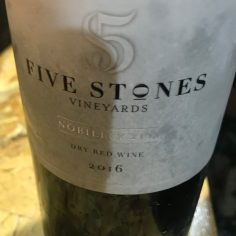 Five Stones Vineyards-Nobility-2016-Red Kosher-Israel
